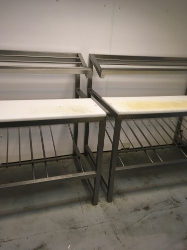 Steel preparation tables