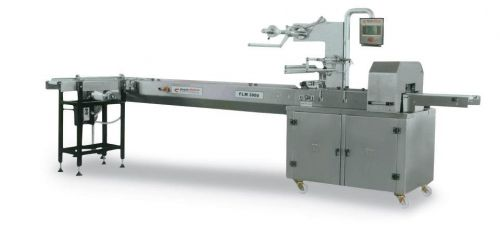FLM3000 Horizontal Flowpack Packaging Machine with PVC Band
