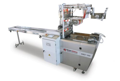 OWET 1000  Overwrapping Envelope-Type Packaging Machine